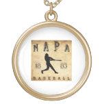 Béisbol 1883 de Napa California Joyería