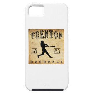 Béisbol 1883 de Trenton New Jersey iPhone 5 Fundas