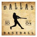 Béisbol 1884 de Dallas Tejas Fotografía