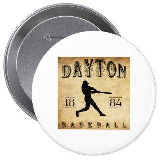 Béisbol 1884 de Dayton Ohio Pins