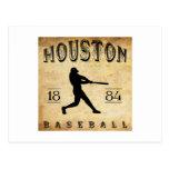 Béisbol 1884 de Houston Tejas Postal