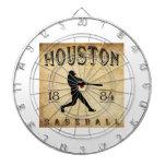 Béisbol 1884 de Houston Tejas Tabla Dardos