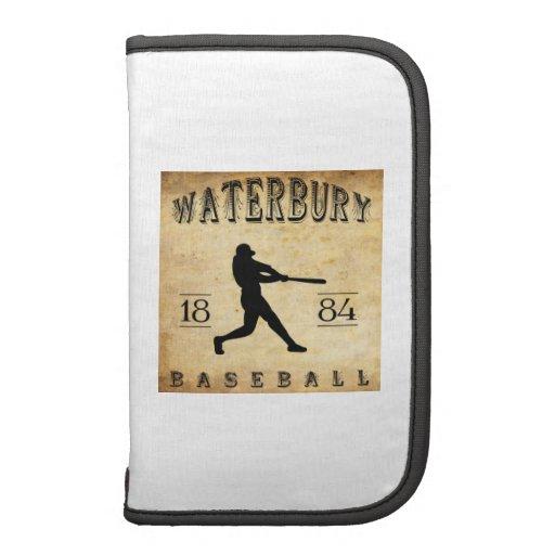 Béisbol 1884 de Waterbury Connecticut Planificadores
