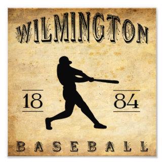 Béisbol 1884 de Wilmington Delaware Fotografía
