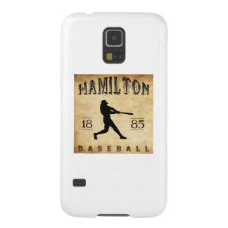 Béisbol 1885 de Hamilton Ontario Canadá Funda De Galaxy S5