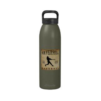 Béisbol 1885 de Haverhill Massachusetts Botellas De Agua Reutilizables