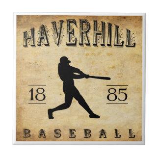 Béisbol 1885 de Haverhill Massachusetts Teja Cerámica