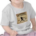 Béisbol 1885 de Haverhill Massachusetts Camisetas