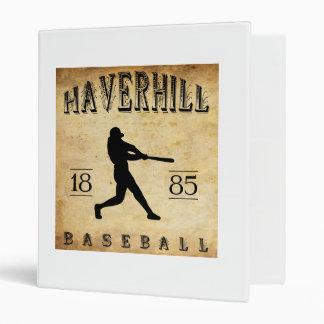 Béisbol 1885 de Haverhill Massachusetts