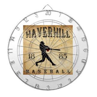 Béisbol 1885 de Haverhill Massachusetts Tablero Dardos