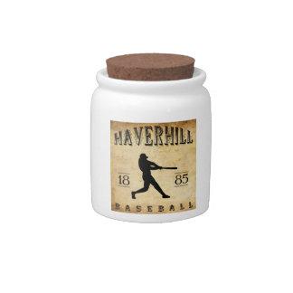Béisbol 1885 de Haverhill Massachusetts Platos Para Caramelos