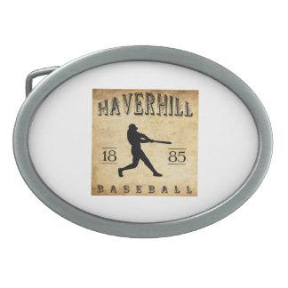 Béisbol 1885 de Haverhill Massachusetts Hebillas Cinturón