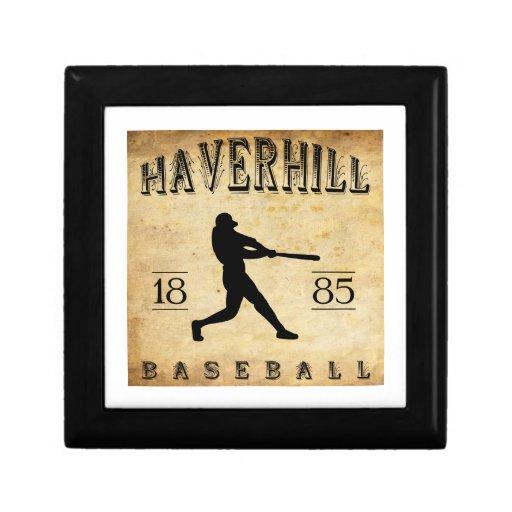 Béisbol 1885 de Haverhill Massachusetts Caja De Regalo