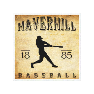 Béisbol 1885 de Haverhill Massachusetts Impresiones En Lona