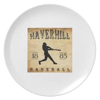 Béisbol 1885 de Haverhill Massachusetts Plato Para Fiesta