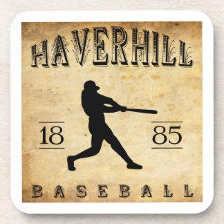 Béisbol 1885 de Haverhill Massachusetts Posavasos De Bebidas