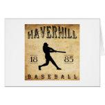 Béisbol 1885 de Haverhill Massachusetts Felicitacion