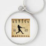 Béisbol 1885 de Oswego Nueva York Llavero Personalizado