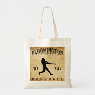 Béisbol 1886 de Bloomington Illinois Bolsa De Mano