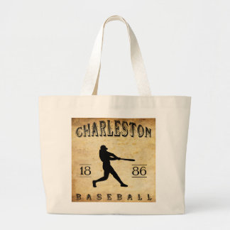 Béisbol 1886 de Charleston Carolina del Sur Bolsas De Mano