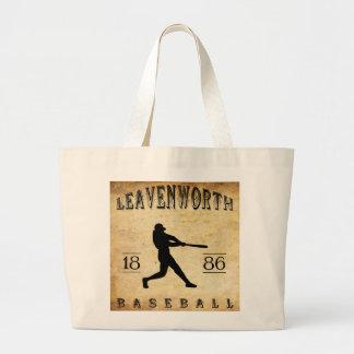 Béisbol 1886 de Leavenworth Kansas Bolsa