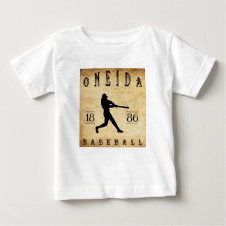 Béisbol 1886 de Nueva York del Oneida Playera