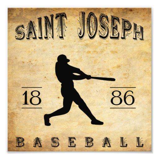 Béisbol 1886 de San José Missouri Fotos