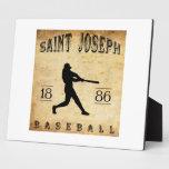 Béisbol 1886 de San José Missouri Placas Con Foto