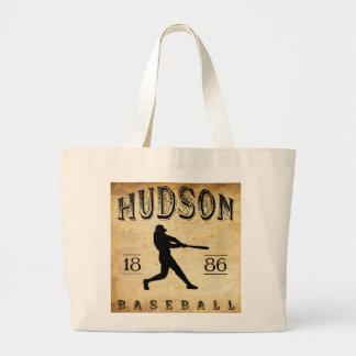 Béisbol 1886 del Hudson Nueva York Bolsa