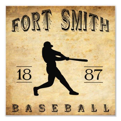 Béisbol 1887 de Fort Smith Arkansas Foto