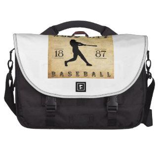 Béisbol 1887 de Missouri de la ciudad de Webb Bolsa Para Ordenador