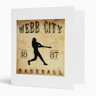 Béisbol 1887 de Missouri de la ciudad de Webb