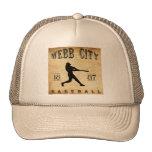 Béisbol 1887 de Missouri de la ciudad de Webb Gorro