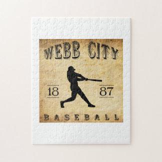 Béisbol 1887 de Missouri de la ciudad de Webb Puzzles