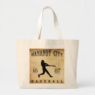 Béisbol 1887 de Pennsylvania de la ciudad de Mahan Bolsa De Mano