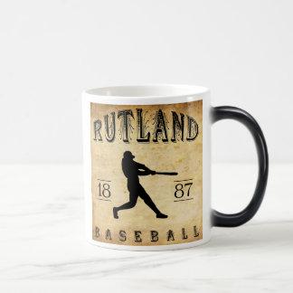 Béisbol 1887 de Rutland Vermont Tazas