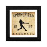 Béisbol 1887 de Springfield Missouri Cajas De Joyas