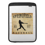 Béisbol 1887 de Springfield Missouri Funda Para Macbook Air