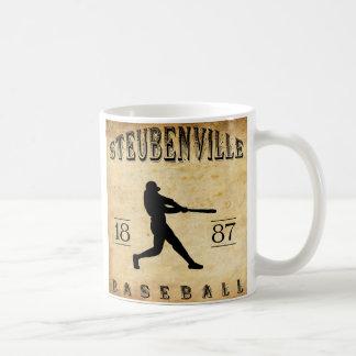 Béisbol 1887 de Steubenville Ohio Taza Clásica