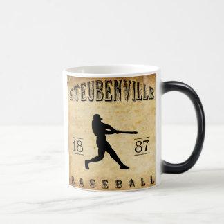 Béisbol 1887 de Steubenville Ohio Taza Mágica