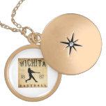 Béisbol 1887 de Wichita Kansas Colgante Personalizado