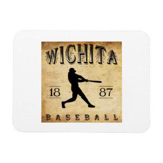 Béisbol 1887 de Wichita Kansas Imanes