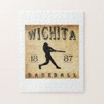 Béisbol 1887 de Wichita Kansas Rompecabeza
