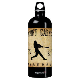 Béisbol 1887 del monte Carmelo Pennsylvania Botella De Agua