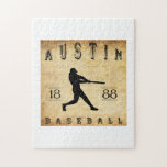 Béisbol 1888 de Austin Tejas Rompecabezas