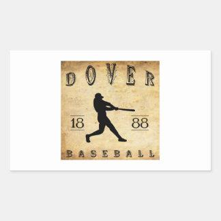 Béisbol 1888 de Dover Delaware Rectangular Altavoces