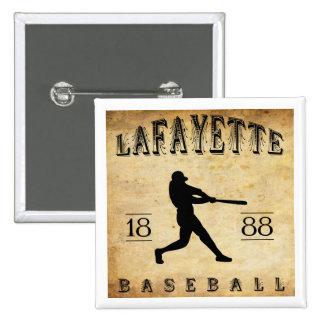 Béisbol 1888 de Lafayette Indiana Pin
