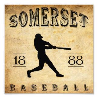 Béisbol 1888 de Somerset New Jersey Impresión Fotográfica