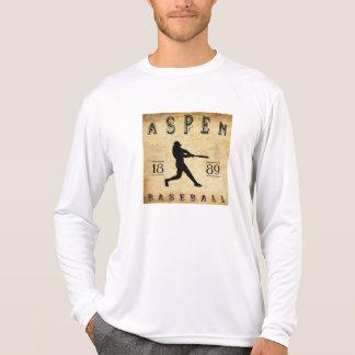 Béisbol 1889 de Aspen Colorado Camiseta