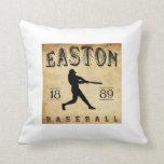 Béisbol 1889 de Easton New Jersey Cojines